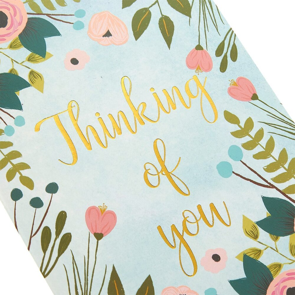 Greeting Card-Thinking of You Floral