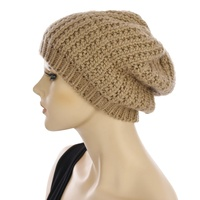 Cable Knit Fleeced Beanie