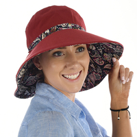 Cotton Reversible Sun Hat