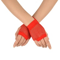 Fishnet Gloves Palm-Wrist Length