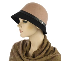 Teresa Wool Cloche Hat