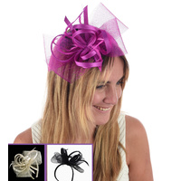 Mesh & Ribbon Butterfly Fascinator