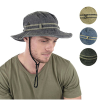 Stone Washed Fishing Hat