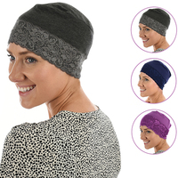 BAMBOO NIGHTCAP HAT LINER - WENDY