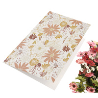 Greeting Card-Floral Franzy | Pattern 2