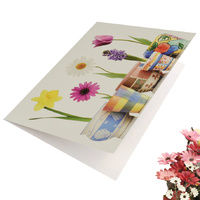 Greeting Card-Bloom Where You've Planted